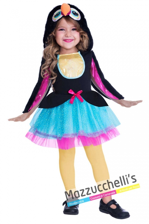 costume-bambina-tucano-animale---mazzuccchellis