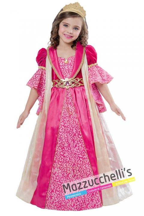 costume-principessa-rosa-bambina-ragazza-fiabe-film-carnevale---mazzucchellis