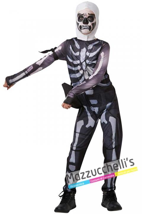 costume-videogioco-Fortnite---Skull-Trooper---mazzucchellis