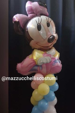 colonna-bambina-personaggio-minnie-cartone---mazzucchellis