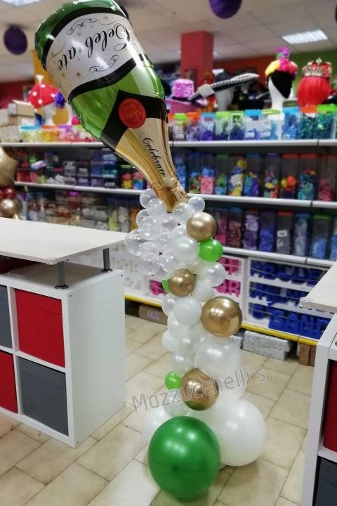 colonna-champagne-decorazione-elegante-compleanno-aniversario---mazzucchellis