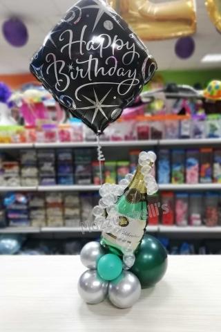 composizione-centrotavola-buon-compleanno-bottiglia-champagne---mazzucchellis