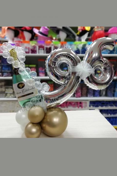 composizione-centrotavola-compleanno-champagne-numero---mazzucchellis